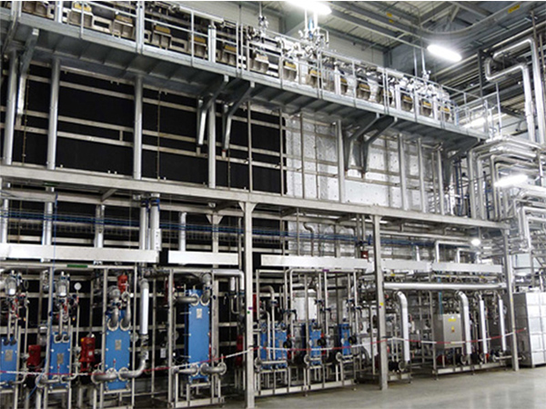 Continuous hydrostatic sterilizer system